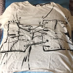 Zara Trafaluc T shirt